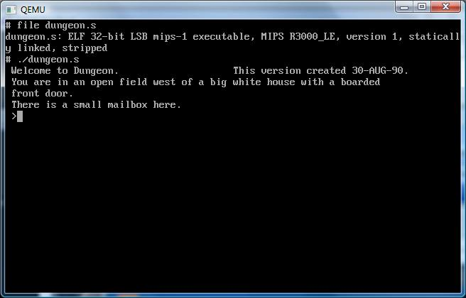 Dungeon for NetBSD little endian MIPS