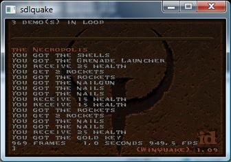 949 FPS in Quake1!