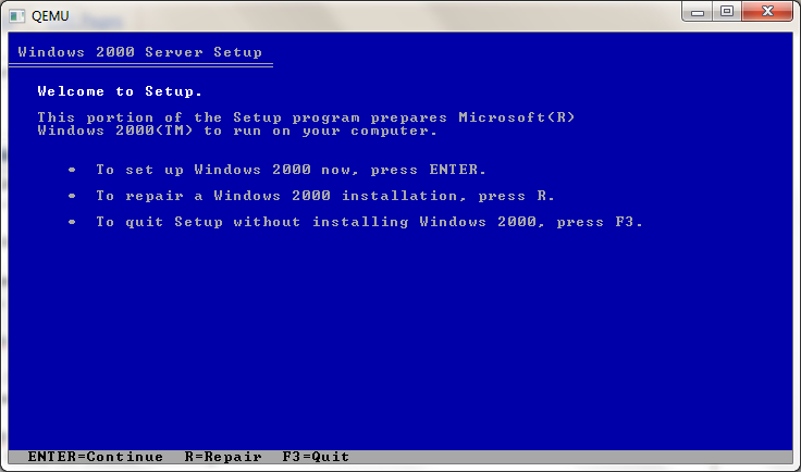 windows 2000 advanced server free