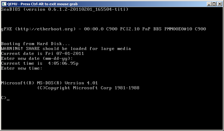 BBS'ing with Windows/386 & Windows 3 0 under Qemu or how I learned