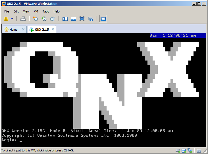 qnx2-vmware-firstboot