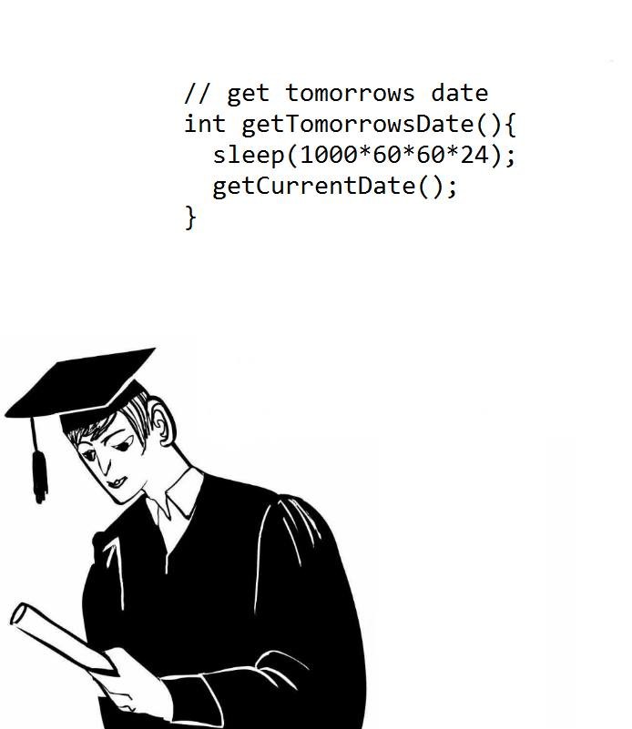 get tomorrows date