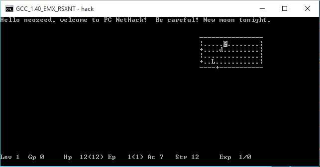nethack – Virtually Fun