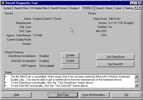 Using Voodoo 2 emulation with PCem / 86Box | Fun with