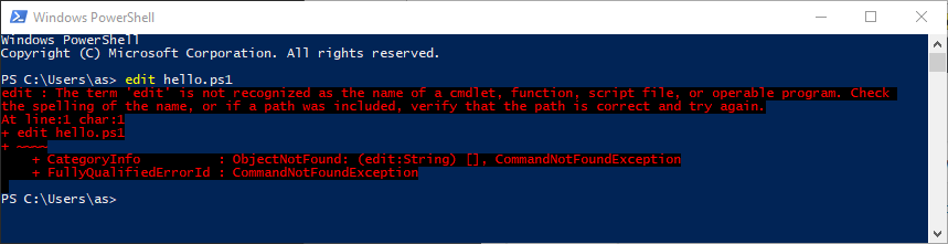 Wanted Console Text Editor For Windows Fun With Virtualization