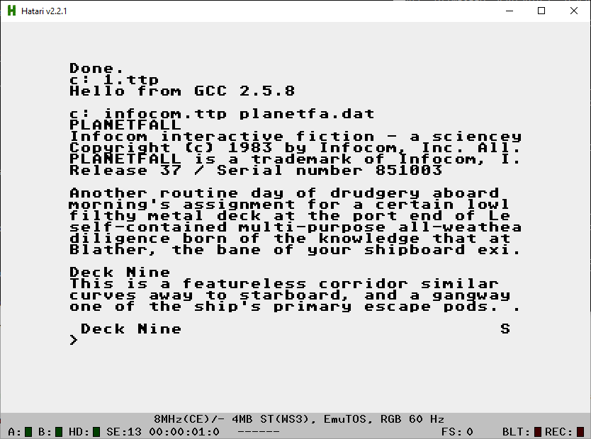 Atari ST | Fun with virtualization